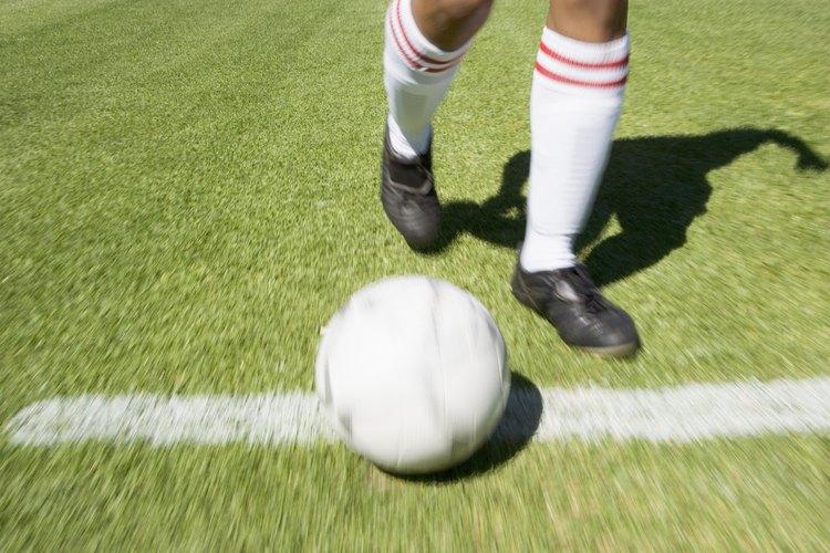 Mantén tu balón libre de manchas de césped.