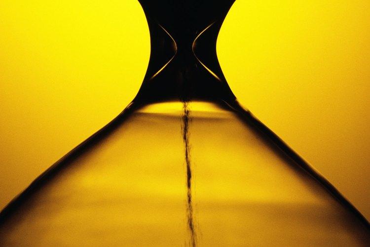 La figura de reloj de arena tiene un nombre adecuado.