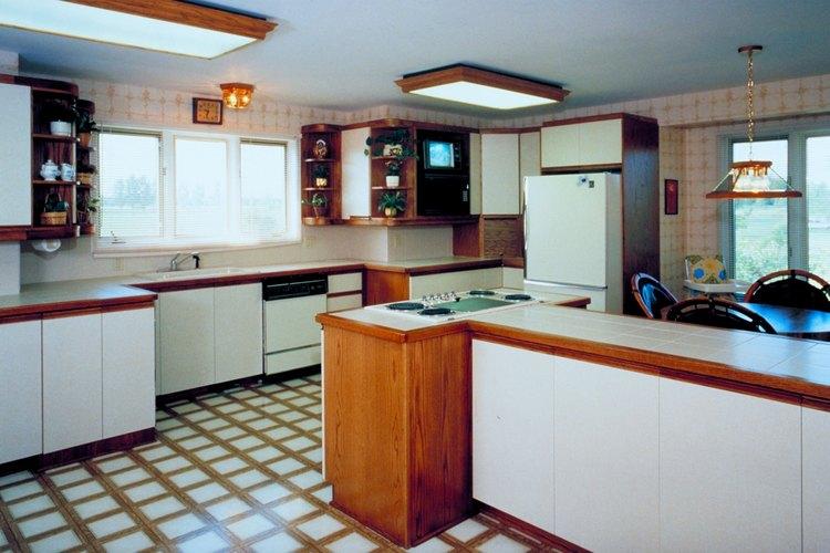 El linóleo no es ideal para la calefacción radiante y es sensible a los cambios de humedad.