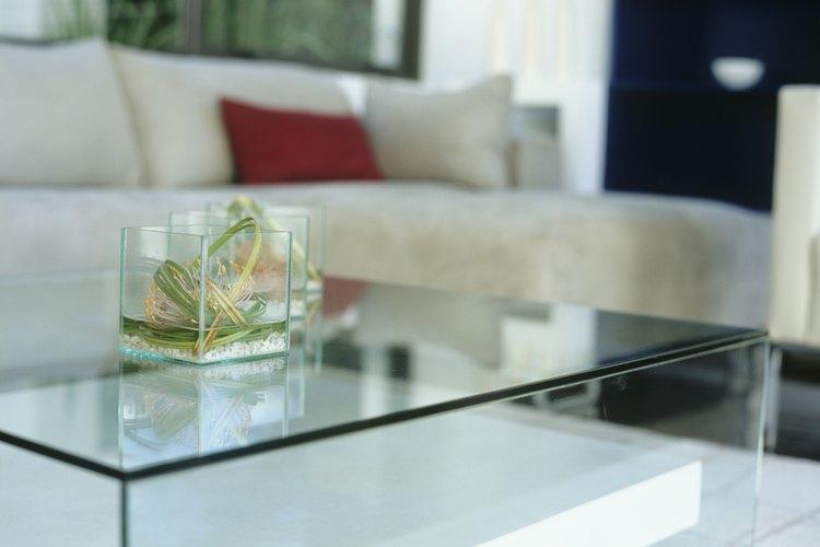 Mueble de cristal.