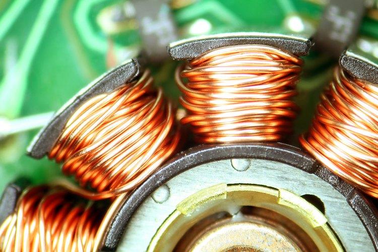 Un motor de ventilador de computadora utiliza un alambre enrollado que puede generar electricidad.