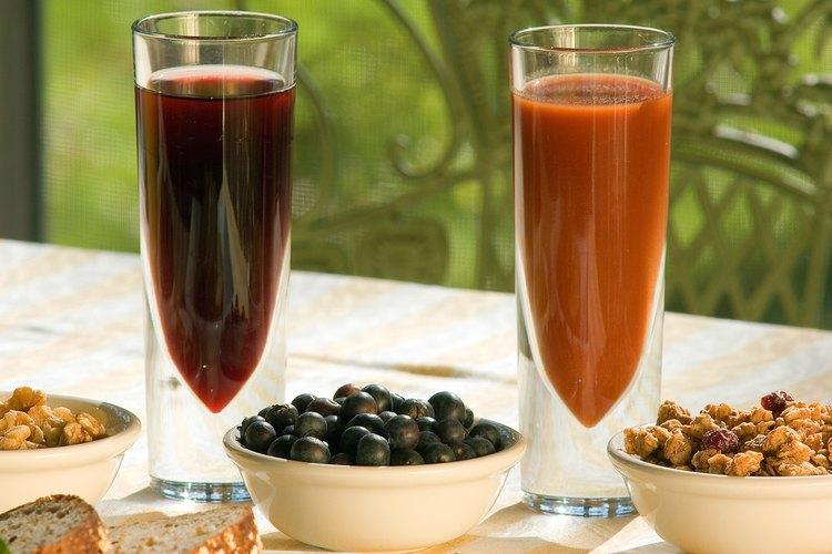 Las manchas de jugo de uva son difíciles de eliminar por su intenso color oscuro.