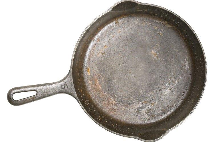 Las sartenes de hierro fundido son una buena opción para las cocinas de inducción.
