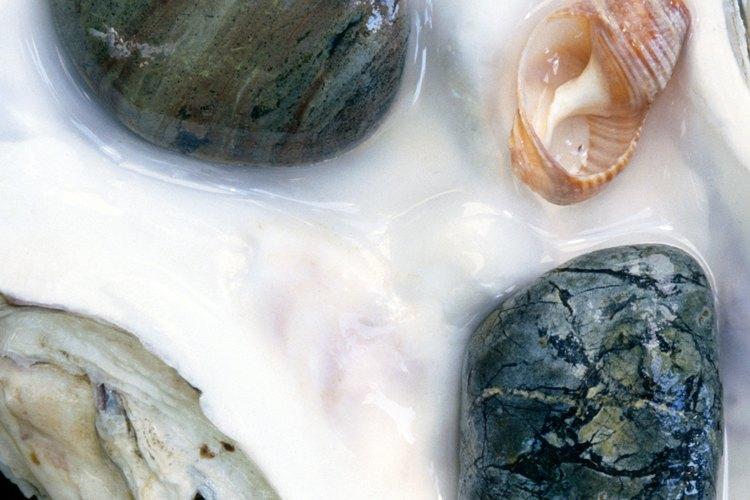 La playa Agate se llama así por las piedras semipreciosas que frecuentemente se lavan en sus orillas.