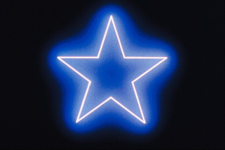 Usa estrellas brillantes para una fiesta nocturna.
