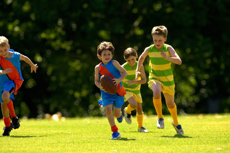 Ciertos niños se sienten presionados en el campo de juego.