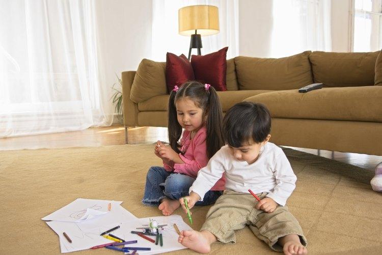 Recordatorio visual para niños de edad preescolar.