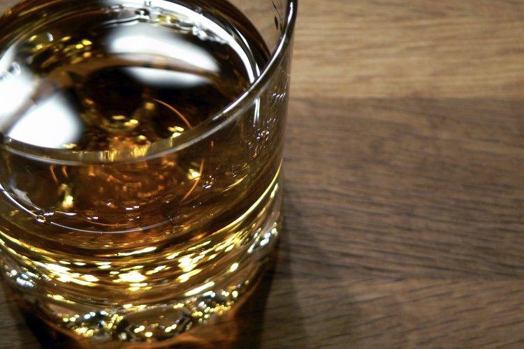 Whisky en un vaso