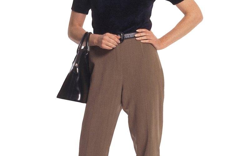 Cuando los pantalones se adaptan bien, te ves y te sientes mas cómoda.