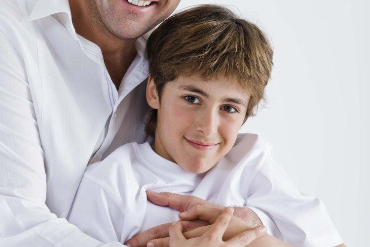 Coloca a los niños en parejas con sus padres para las actividades del día de visitas.