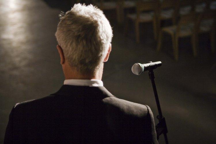 Una presentación en un discurso de AA debe ser sencilla, pero significativa.