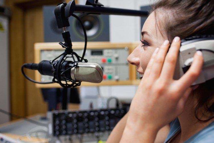Las radiodifusoras pueden utilizar los sonidos para realzar la experiencia.