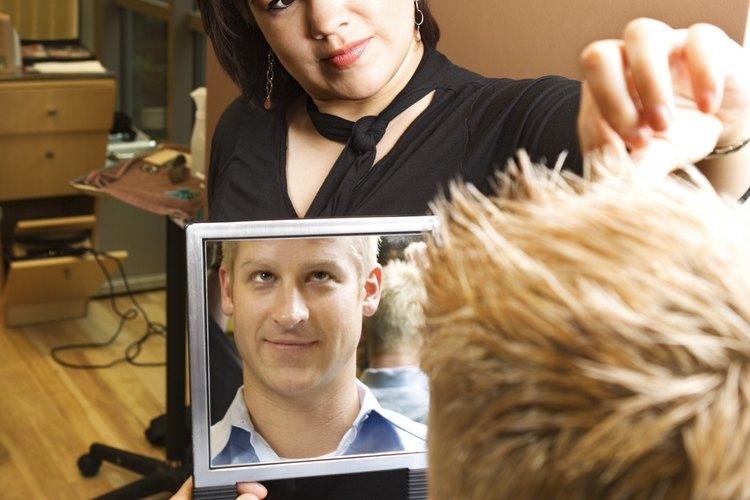 Elige un corte de cabello con el que te sientas bien.
