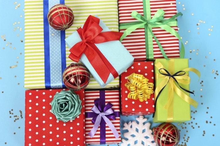 ¿Por qué sólo envolver un regalo cuando también puedes esconderlo?
