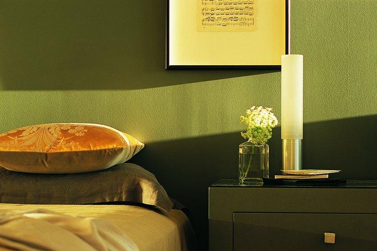 El oliva es un color tranquilizador para una habitación.
