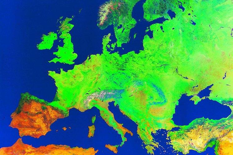 La mayor parte de los países que muestran un crecimiento negativo de la población pertenecen a Europa.