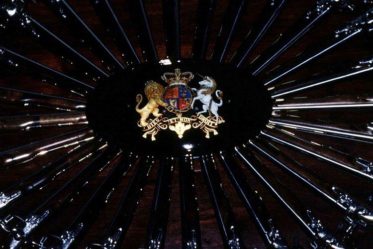 Los diseños y los colores de los escudos de armas suelen representar cualidades y logros.