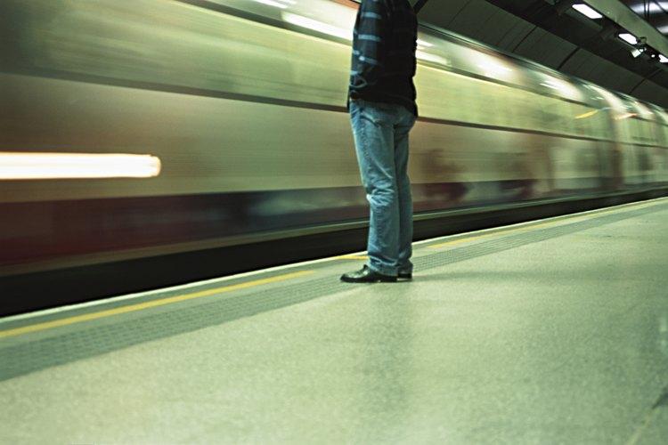 El metro de Londres es el medio más rápido para desplazarse por la ciudad.