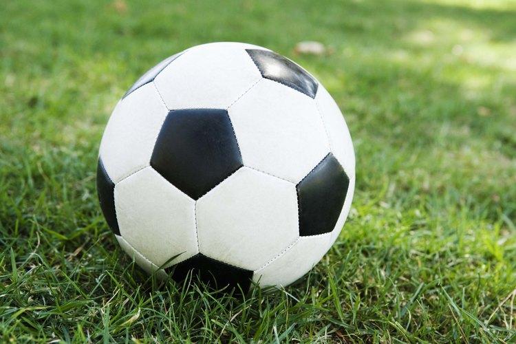 Balón de fútbol.