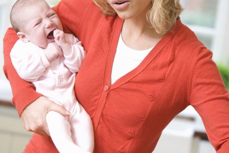 Calma naturalmente los dolores del bebé causados por los gases.