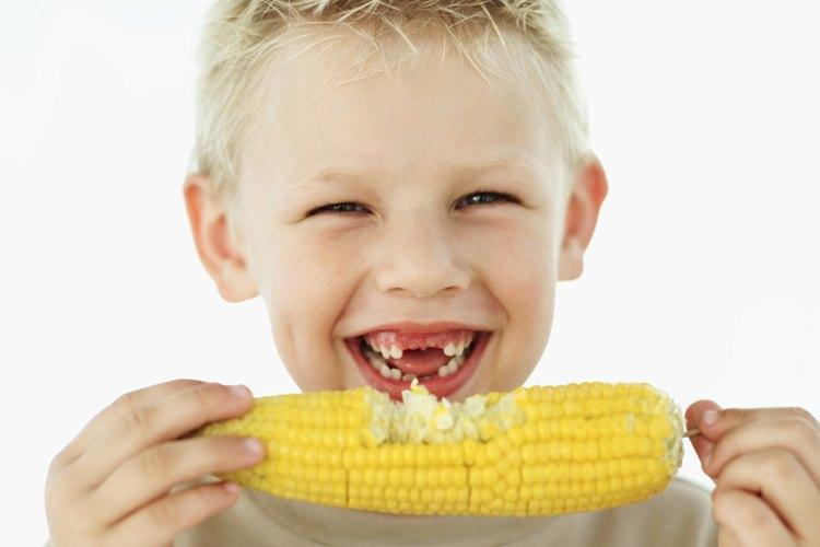 El cuerpo humano no puede descomponer el maíz y la lechuga.