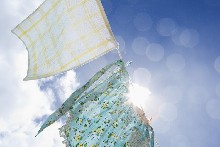 Cómo quitar las manchas de sol de la ropa.