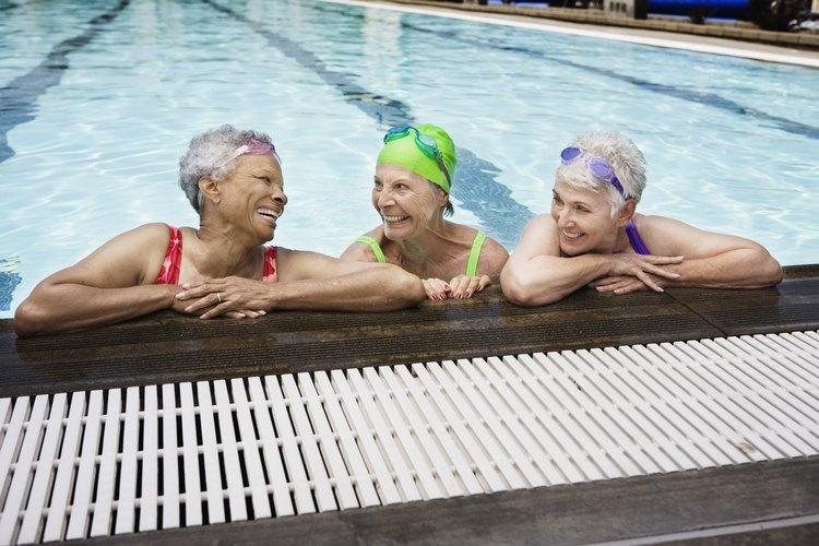 Muchas piscinas están hechas por razones estéticas.