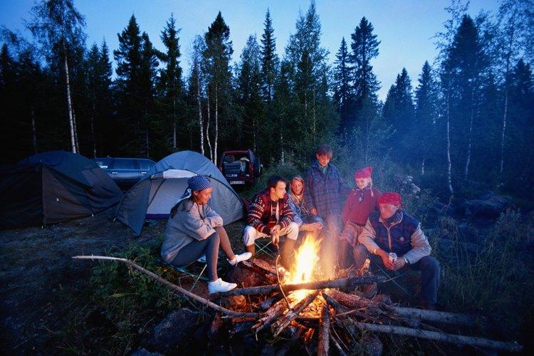Las áreas alrededor de Chico proveen excelentes oportunidades para acampar.