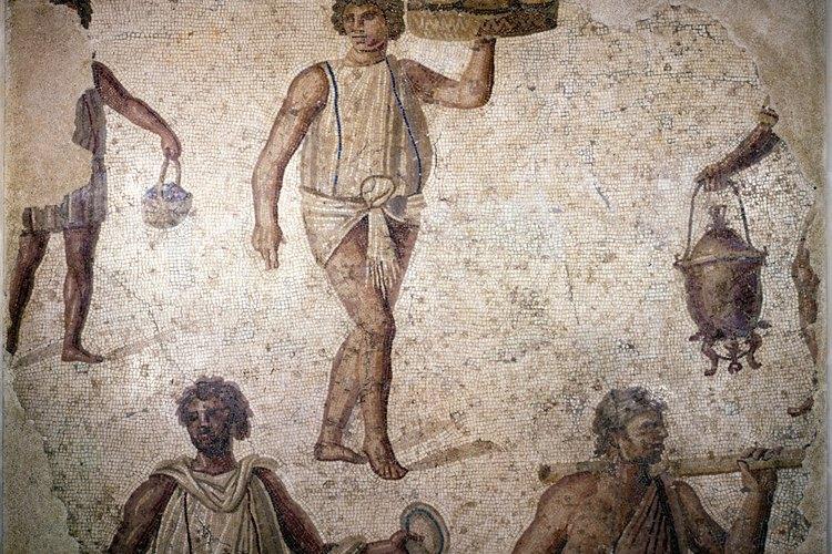 Los esclavos romanos gozaban de muy pocos derechos.