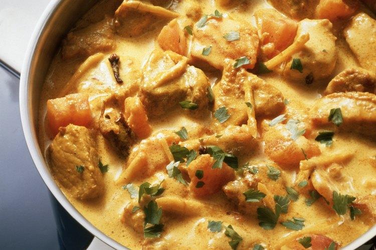 El número de calorías del Curry depende en lo que pongas en él.
