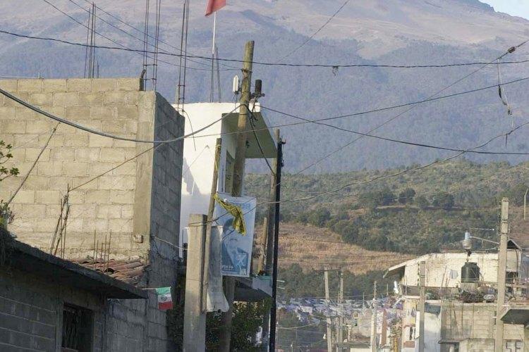 Los conventos en la falda del Popocatepetl también son Patrimonio Cultural de la Humanidad.
