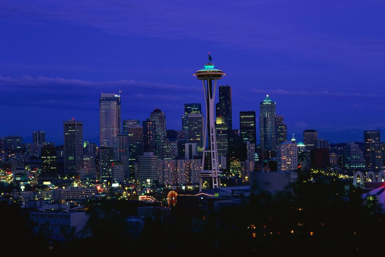 Seattle, Washington, cobra vida por la noche.