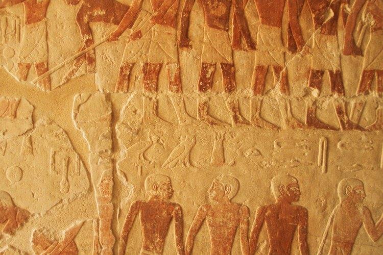 Las antiguas culturas egipcia y mesopotámica diferían en varios aspectos importantes.