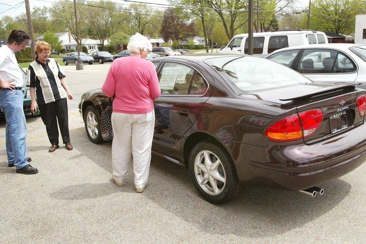 Cambia el sistema de seguridad en tu Oldsmobile Alero si el sistema impide que se inicie.