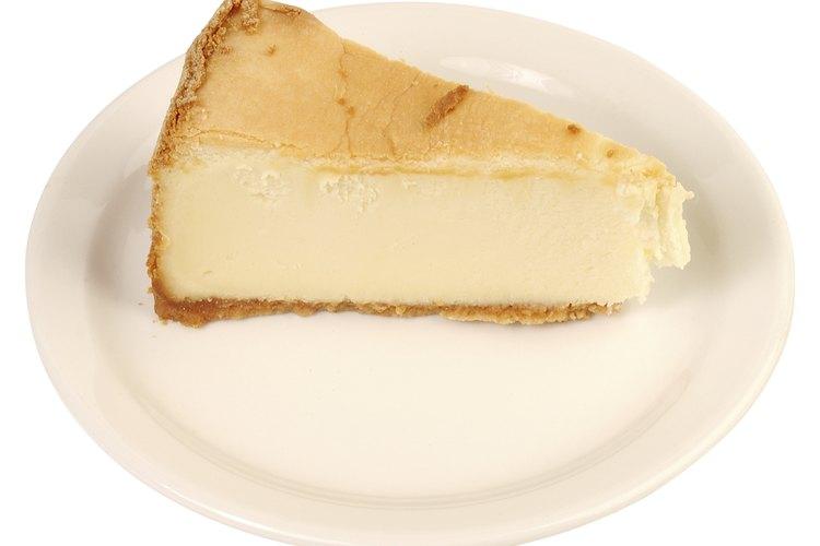 Guarda tu pastel de queso en el congelador.