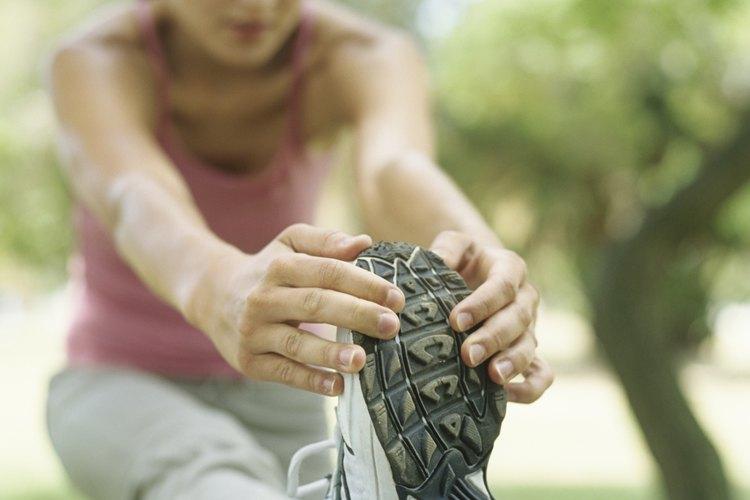 Tus pies se hinchan durante el trote y durante todo el día.