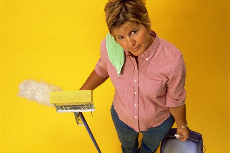 Limpia los revestimientos de tu casa.