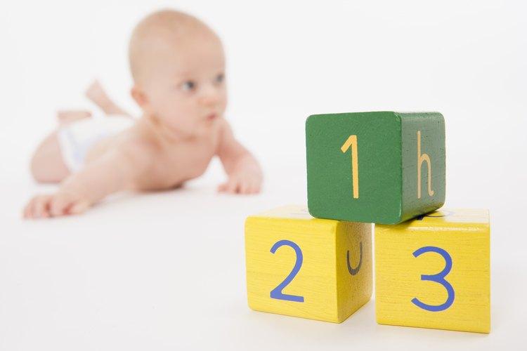 Etiqueta las uniones en U con los números 1, 2 y 3 para referencia futura.