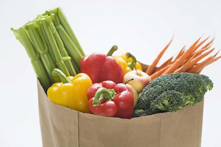 Bolsa de vegetales.