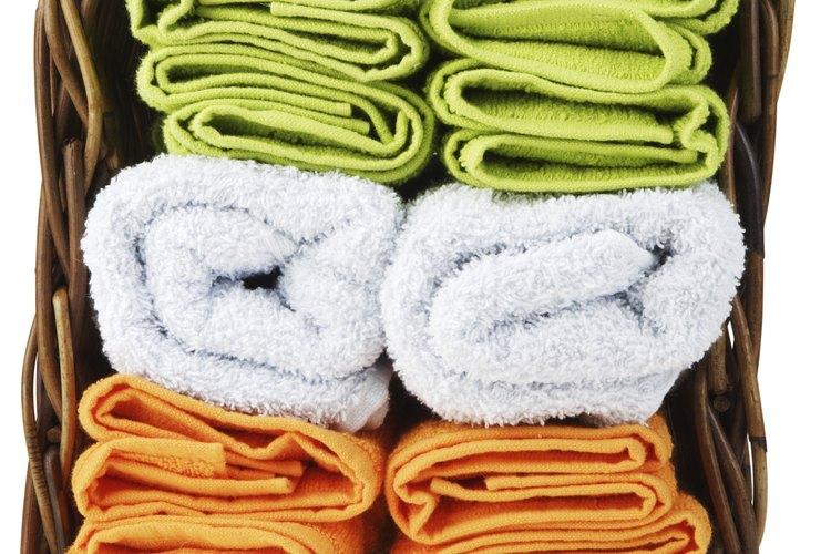 Esta es una manera simple, pero elegante para doblar una toalla.