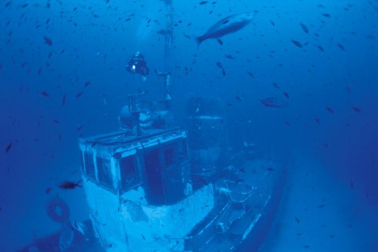 Los arqueólogos estudian naufragios y otros restos bajo el agua para aprender más acerca de los comportamientos humanos.