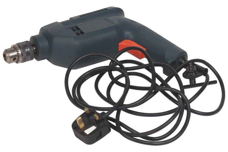 El taladro es la herramienta eléctrica de mano de uso más común.
