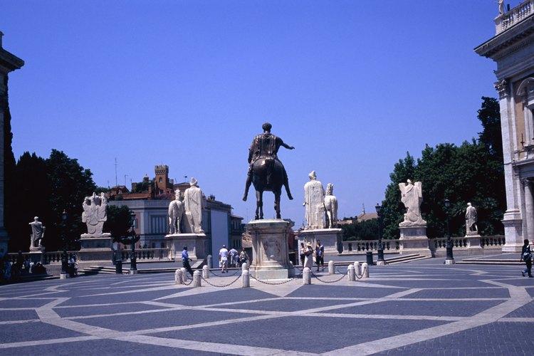 Colina Capitolina, Roma, Italia.