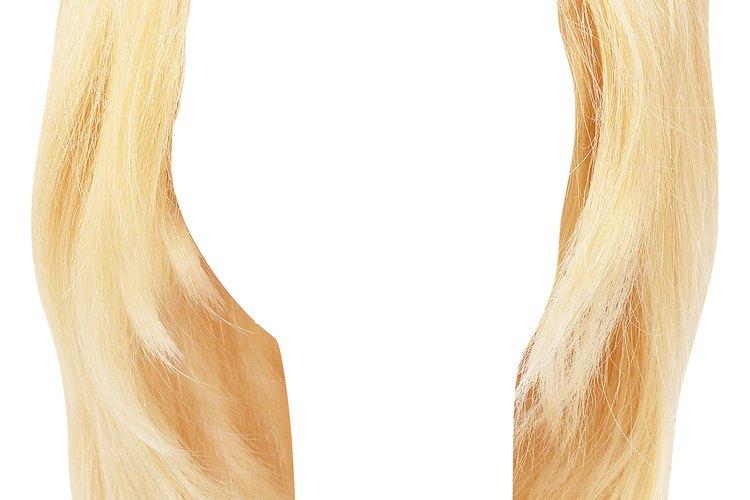 Las pelucas y extensiones de pelo requieren cuidado especial para evitar los enredos.