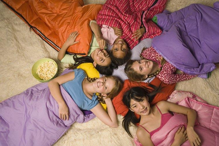 Planear una fiesta de pijamas