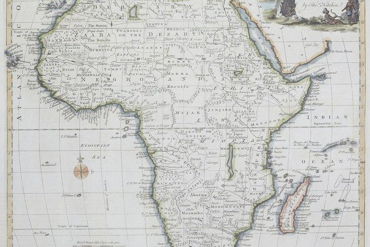 El continente africano.