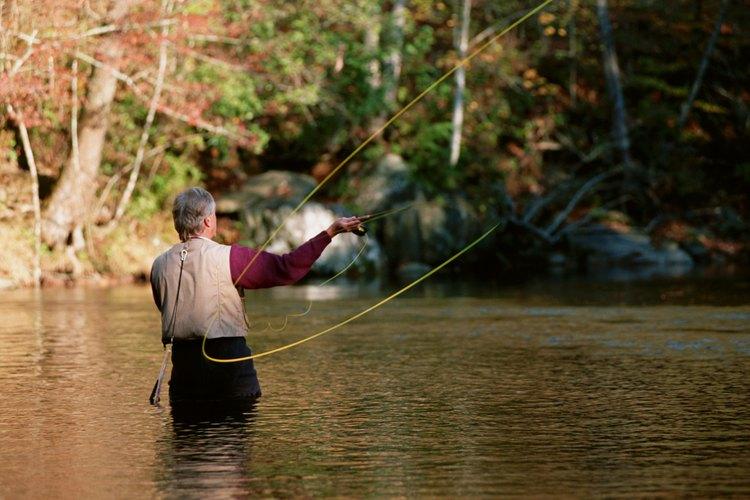 Spring Creek en Bellefonte es un gran puesto de pesca con mosca.