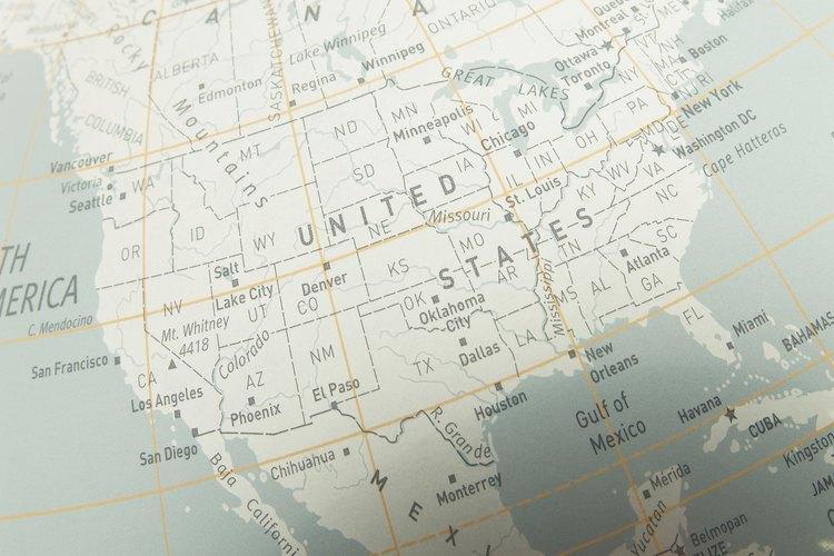 ¿Cuáles son las seis regiones de los Estados Unidos?