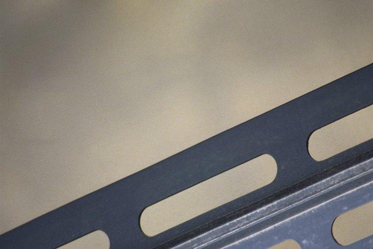 Cómo almacenar barras de acero de refuerzo.