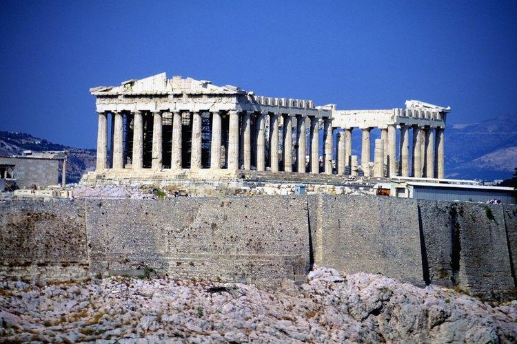 Gran parte de la organización de nuestra sociedad se originó en la antigua Grecia.
